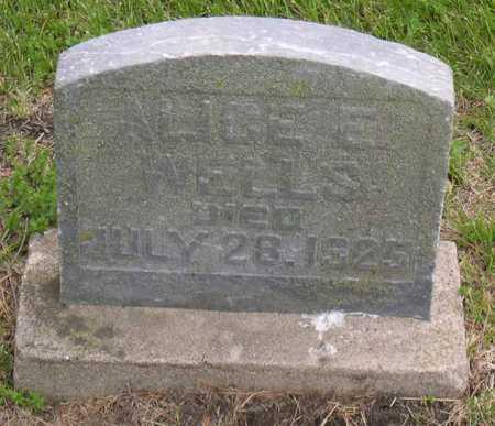 WELLS, ALICE E. - Linn County, Iowa | ALICE E. WELLS