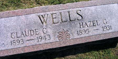 WELLS, CLAUDE C. - Linn County, Iowa | CLAUDE C. WELLS