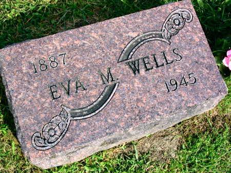 WELLS, EVA M. - Linn County, Iowa | EVA M. WELLS