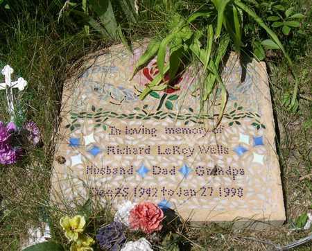 WELLS, RICHARD LEROY - Linn County, Iowa   RICHARD LEROY WELLS