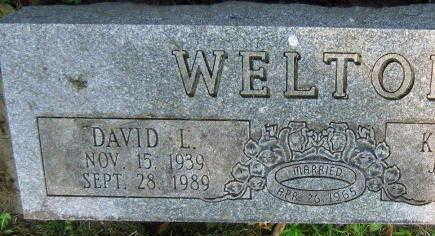 WELTON, DAVID L. - Linn County, Iowa   DAVID L. WELTON