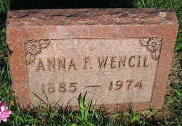 WENCIL, ANNA F. - Linn County, Iowa | ANNA F. WENCIL