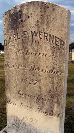 WERNER, CARL E. - Linn County, Iowa | CARL E. WERNER