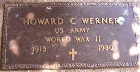 WERNER, HOWARD C. - Linn County, Iowa | HOWARD C. WERNER