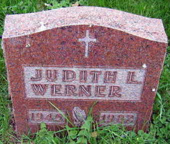 WERNER, JUDITH L. - Linn County, Iowa   JUDITH L. WERNER