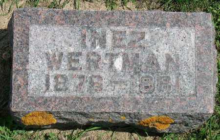 WERTMAN, INEZ - Linn County, Iowa | INEZ WERTMAN