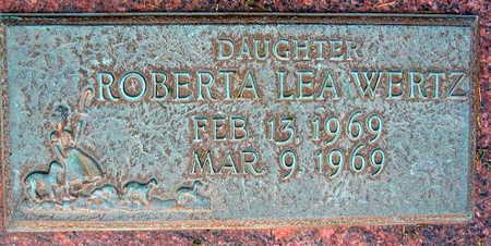 WERTZ, ROBERTA LEA - Linn County, Iowa | ROBERTA LEA WERTZ