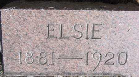 WESENBERG, ELSIE - Linn County, Iowa | ELSIE WESENBERG