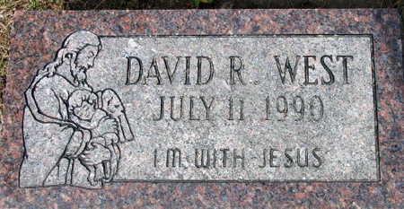 WEST, DAVID R. - Linn County, Iowa   DAVID R. WEST