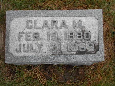 WETHERBEE, CLARA M - Linn County, Iowa   CLARA M WETHERBEE