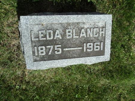 VAN AUKEN WETHERBEE, LEDA BLANCH - Linn County, Iowa | LEDA BLANCH VAN AUKEN WETHERBEE