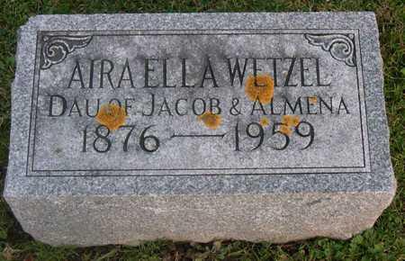 WETZEL, AIRAELLA - Linn County, Iowa   AIRAELLA WETZEL