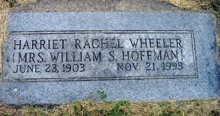 WHEELER, HARRIET RACHEL - Linn County, Iowa | HARRIET RACHEL WHEELER