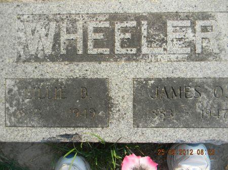 WHEELER, LILLIE B. - Linn County, Iowa   LILLIE B. WHEELER