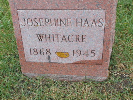 HAAS WHITACRE, JOSEPHINE - Linn County, Iowa | JOSEPHINE HAAS WHITACRE