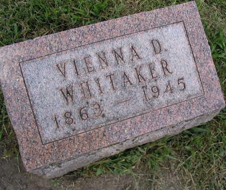 WHITAKER, VIENNA D. - Linn County, Iowa | VIENNA D. WHITAKER