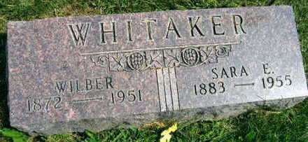 WHITAKER, WILBER - Linn County, Iowa | WILBER WHITAKER