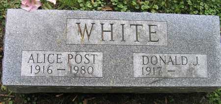 POST WHITE, ALICE - Linn County, Iowa | ALICE POST WHITE
