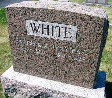 WHITE, EMERSON A. - Linn County, Iowa   EMERSON A. WHITE