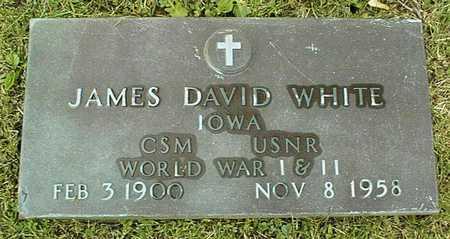 WHITE, JAMES DAVID - Linn County, Iowa | JAMES DAVID WHITE