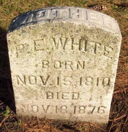 WHITE, P.E. - Linn County, Iowa | P.E. WHITE