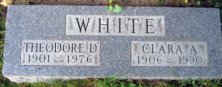 WHITE, THEODORE D. - Linn County, Iowa | THEODORE D. WHITE