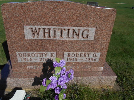 WHITING, ROBERT O. - Linn County, Iowa | ROBERT O. WHITING