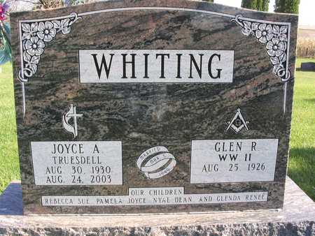 WHITING, JOYCE A. - Linn County, Iowa | JOYCE A. WHITING