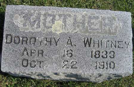 WHITNEY, DOROTHY A. - Linn County, Iowa | DOROTHY A. WHITNEY