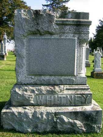 WHITNEY, FAMILY STONE - Linn County, Iowa | FAMILY STONE WHITNEY
