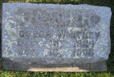 WHITNEY, JOSEPH - Linn County, Iowa | JOSEPH WHITNEY