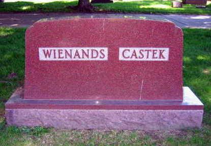 WIENANDS CASTEK, FAMILY STONE - Linn County, Iowa   FAMILY STONE WIENANDS CASTEK