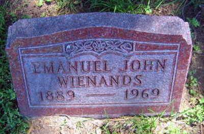 WIENANDS, EMANUEL JOHN - Linn County, Iowa   EMANUEL JOHN WIENANDS