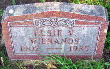 WIENANDS, ELSIE V. - Linn County, Iowa | ELSIE V. WIENANDS
