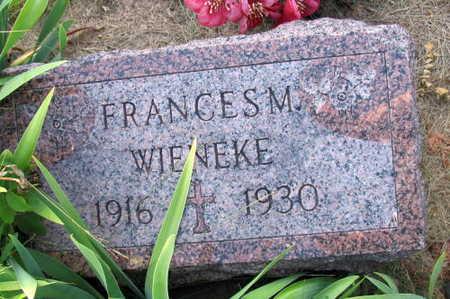 WIENEKE, FRANCIS M. - Linn County, Iowa   FRANCIS M. WIENEKE