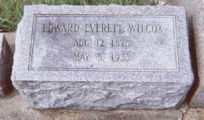WILCOX, EDWARD EVERETT - Linn County, Iowa | EDWARD EVERETT WILCOX