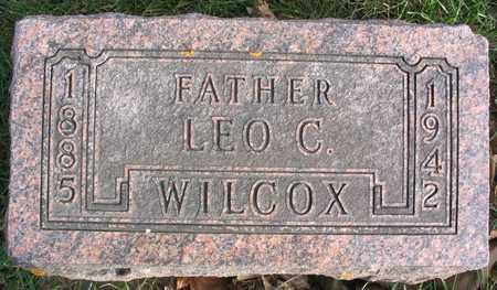 WILCOX, LEO C. - Linn County, Iowa | LEO C. WILCOX