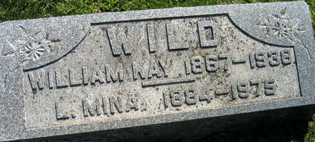 WILD, WILLIAM KAY - Linn County, Iowa   WILLIAM KAY WILD