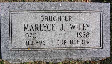 WILEY, MARLYCE J. - Linn County, Iowa   MARLYCE J. WILEY