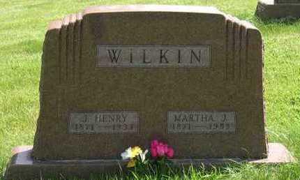 WILKIN, MARTHA J. - Linn County, Iowa | MARTHA J. WILKIN