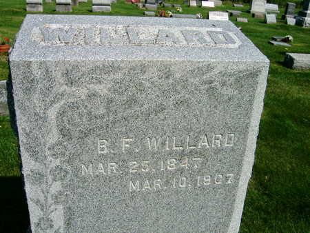 WILLARD, B. F. - Linn County, Iowa | B. F. WILLARD