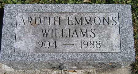 EMMONS WILLIAMS, ARDITH - Linn County, Iowa | ARDITH EMMONS WILLIAMS