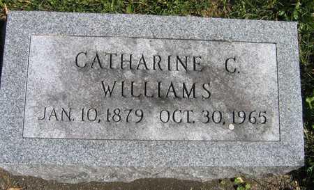 WILLIAMS, CATHARINE C. - Linn County, Iowa | CATHARINE C. WILLIAMS