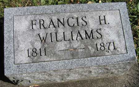 WILLIAMS, FRANCIS H. - Linn County, Iowa | FRANCIS H. WILLIAMS