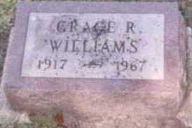 WILLIAMS, GRACE R. - Linn County, Iowa | GRACE R. WILLIAMS