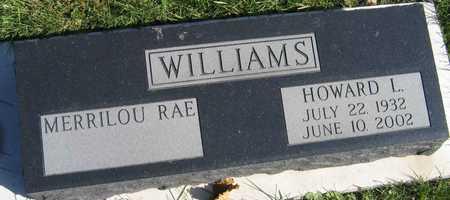 WILLIAMS, HOWARD L. - Linn County, Iowa | HOWARD L. WILLIAMS