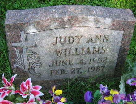 WILLIAMS, JUDY ANN - Linn County, Iowa | JUDY ANN WILLIAMS