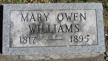 OWEN WILLIAMS, MARY - Linn County, Iowa | MARY OWEN WILLIAMS
