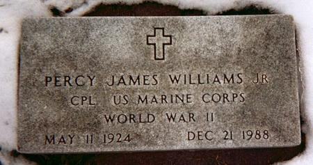 WILLIAMS, PERCY JAMES, JR. - Linn County, Iowa | PERCY JAMES, JR. WILLIAMS