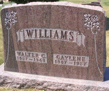 WILLIAMS, WALTER C. - Linn County, Iowa | WALTER C. WILLIAMS
